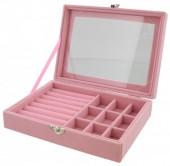 T-L2.2  PK424-075 Luxury Jewelry Box 20x15x5cm Pink