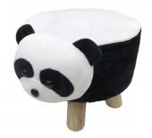 Y-F6.2 STOOL506-002 Plush Stool Panda