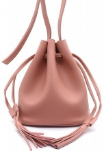 Q-A2.2 BAG417-011B PU Pouch Bag Pink