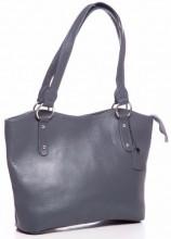 R-I2.2 BAG-553 Leather Bag 40x28x11cm Grey