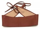 S-B6.4  BELT001-001A PU Waist Belt Brown