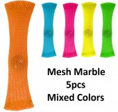 Mesh Marble - Mixed Colors - 5pcs