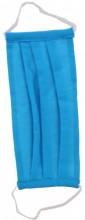 S-E4.2 Fashion Mask - 2 Layers - Cotton - Machine Washable - Individually Packed - Blue