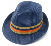 Y-A3.5 HAT504-012A Summer Hat Blue