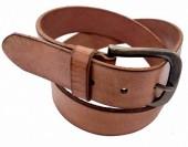 S-A8.1  M010 Leather Belt Cognac 4x95cm