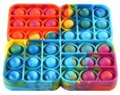 Y-A2.3 T2106-003 Pop It Square - Tie Dye