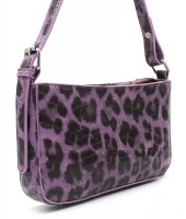 Y-D2.5 BAG546-009B PU Bag Leopard Purple