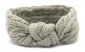 S-J3.4  H401-009C Knitted Headband Grey