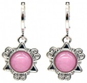 D-A17.2 E532-001S Fantasy Earrings Pink-Silver