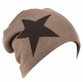 Y-E1.5 Soft Hat with Star Brown