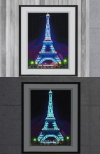 R-F7.1 YGSM31 Diamond Painting Full Set Glow In the Dark 35x25cm