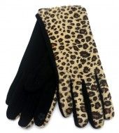 S-C7.1 GLOVE501-001A Soft Gloves with Animal Print