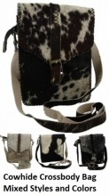 X-A10.1 Crossbody Bag Mixed Colors Cowhide