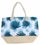 Y-D5.3 BAG528-021 Beach Bag Leaves 36x52cm