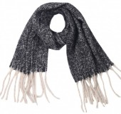 Z-C3.3 SCARF405-056H Soft Winter Scarf Grey