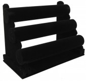 Z-A3.4 Display 3 Layers Velvet 31x23x17cm Black