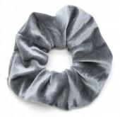 S-G6.2 H305-009 Scrunchie Velvet Grey