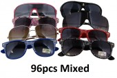 Z-D6 Mixed Designs and Colors Sunglasses 96pcs