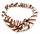 S-J5.2 H305-143A3 Headband Zebra White-Brown