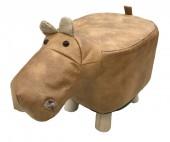 Y-B5.2 STOOL506-001 PU Stool Hippo