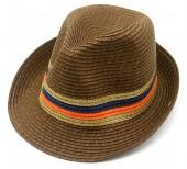 Y-C1.5 HAT504-012B Summer Hat Brown