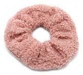 S-D8.4 H305-027D Scrunchie Teddy Pink