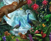 R-P2.1 S254 Diamond Painting Set Animals 50x40cm