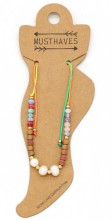E-B15.1 ANK221-015 Beads with Fresh Water Pearls Multi Color