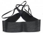 H-D16.1 BELT001-001A PU Waist Belt Black