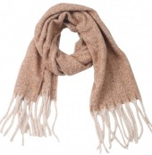 Z-C2.2  SCARF405-056F Soft Winter Scarf Brown