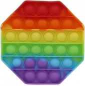 T-L4.1 T2106-003 Pop It Octagon - Rainbow