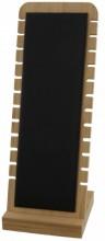 Z-C2.1 PK424-014 Jewelry Display Wood with PU 27x10x9.5cm