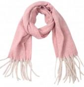 Z-C3.5 SCARF405-056A Soft Winter Scarf 190x50 cm Pink
