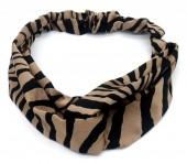 S-H1.4  H305-143A4 Headband Zebra Brown