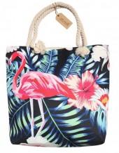 Z-E2.3 BAG189-024 Beach Bag Flamingo