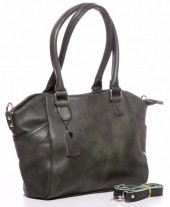 Q-E5.1  BAG-788 Luxury Leather Bag 39x24x10cm Green