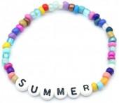 B-B2.3  B2030-001D Beaded Bracelet SUMMER