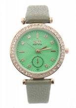 A-D17.4 W523-063 Quartz Watch 32mm with Crystals Green