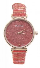 C-C6.4 WA523-017 Quartz Watch Rose Gold with Glitters 32mm