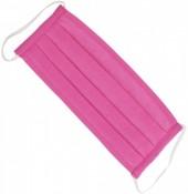 S-B4.3 Fashion Mask - 2 Layers - Cotton - Machine Washable - Individually Packed - Bright Pink