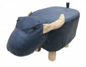 Y-A1.1 STOOL506-001 PU Stool Water Buffalo
