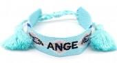 D-D17.1 B2030-004 Woven Bracelet Ange Blue