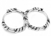 D-B4.5 SE105-023 925S Silver Earrings 10mm