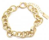 D-A4.1  B2019-017 Metal Chain Bracelet Gold