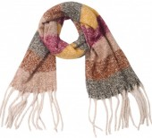 Z-A1.4 SCARF405-059D Soft Striped Winter Brown-Grey-Multi