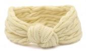 S-J6.2  H401-009D Knitted Headband Beige
