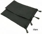 Z-D3.3 BAG205-001 Sunglass Bag 9x17.5cm Black  12pcs
