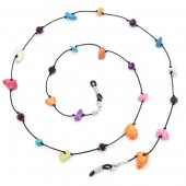 H-D2.1 GL786 Sunglass Chain Colored Stones