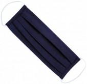 S-H7.3 Fashion Mask - 2 Layers - Cotton - Machine Washable - Individually Packed - Dark Blue