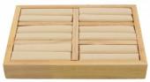 R-L3.2 PK328-001 Wooden ring Display  2.5x18x13cm